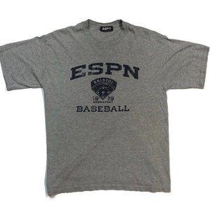 Vintage 1979 ESPN T-Shirt Baseball